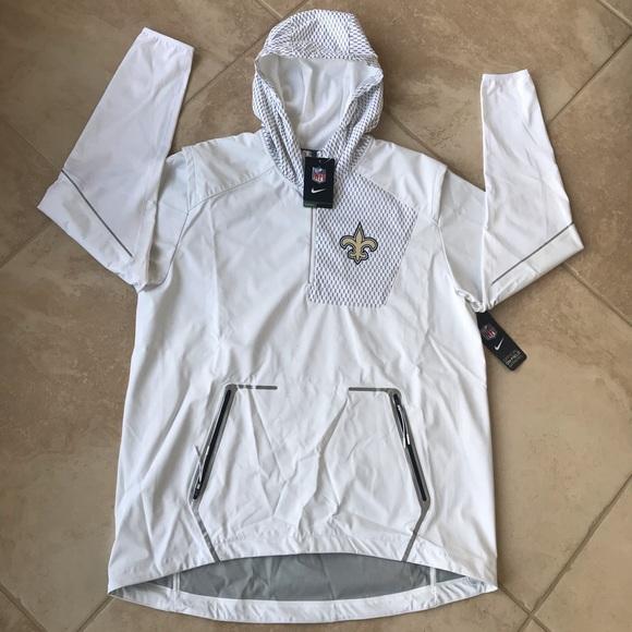 pretty nice a6e57 4c818 Nike NFL official on field apparel saints jacket NWT